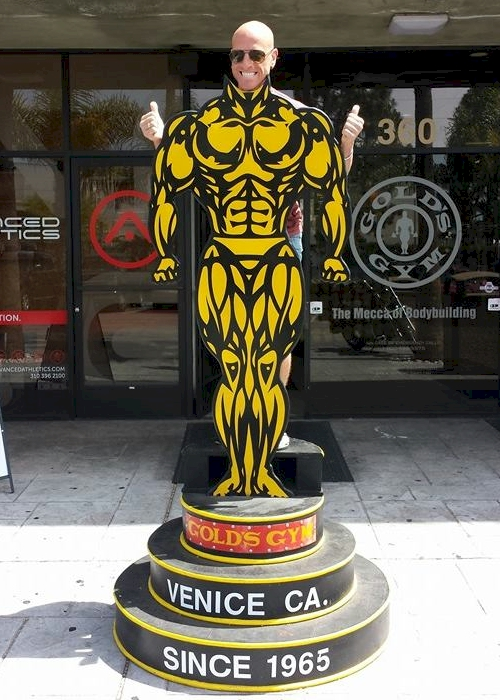 Golds Gym at Venice Beach